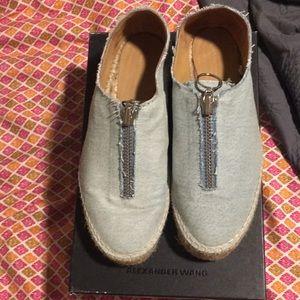 Alexander wang espadrilles type shoes